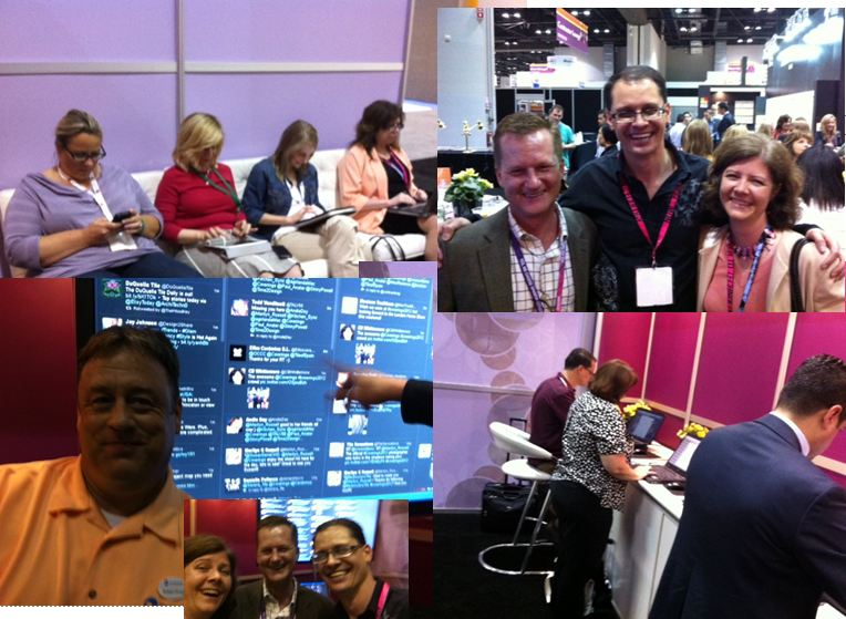 Tile Industry Does Twitter at Coverings 2012