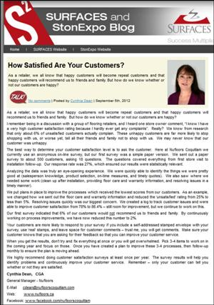 Customer Satisfaction: Do You Assume or Have you Asked?