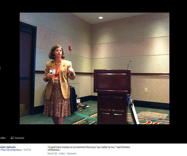 CB Whittemore: FCA Network Annual Convention, Chicago, IL: Reaching Women Customers and Social Media 101