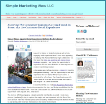 Flooring The Consumer on Simple Marketing Now