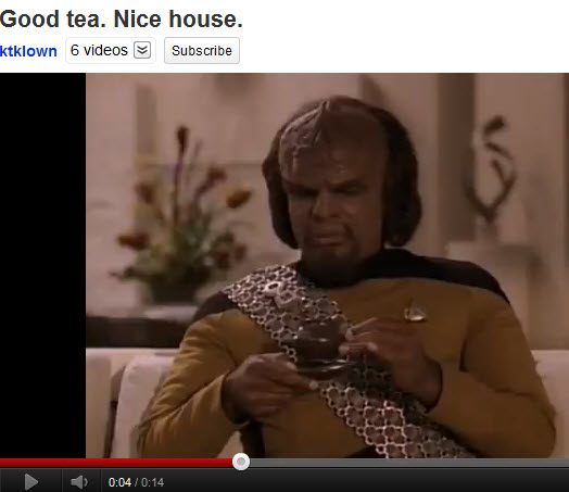 Good Tea, Nice House