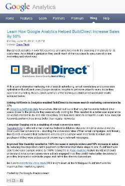 Google BuildDirect