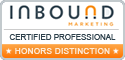Simple Marketing Now is HubSpot Certified in the following inbound knowledge areas.