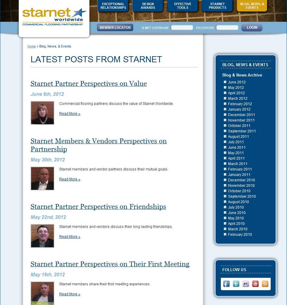 Starnet Blog: Social Flooring Index Review