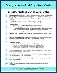 Simple Marketing Nows' Top 10 Twitter Tips