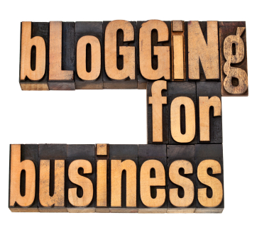 Blogging for business helps attract visitors to your site