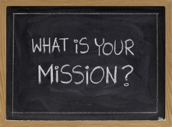 Bring your company mission statement to life on your business blog.