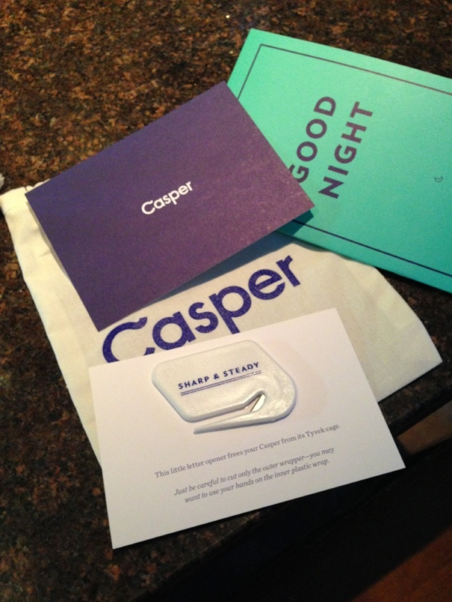 Thoughtful customer experience touches from Casper