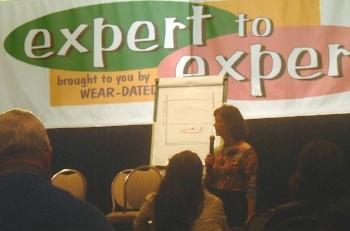 Christine Whittemore speaking: Expert to Expert