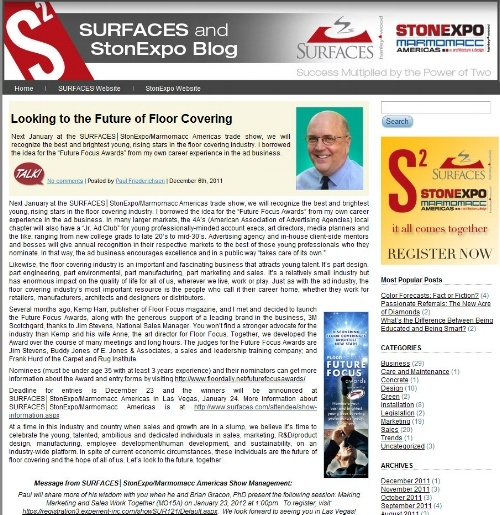 Surfaces and StonExpo Blog: Social Flooring Index Review