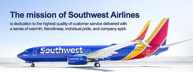 The Mission Statement of Southwest Airlines