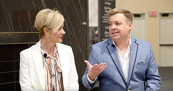 Facebook Live event with talented interior designers Kerrie Kelly (Kerrie Kelly Design Lab) and Christopher Kennedy