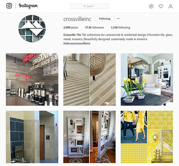 Crossville Inc. on Instagram