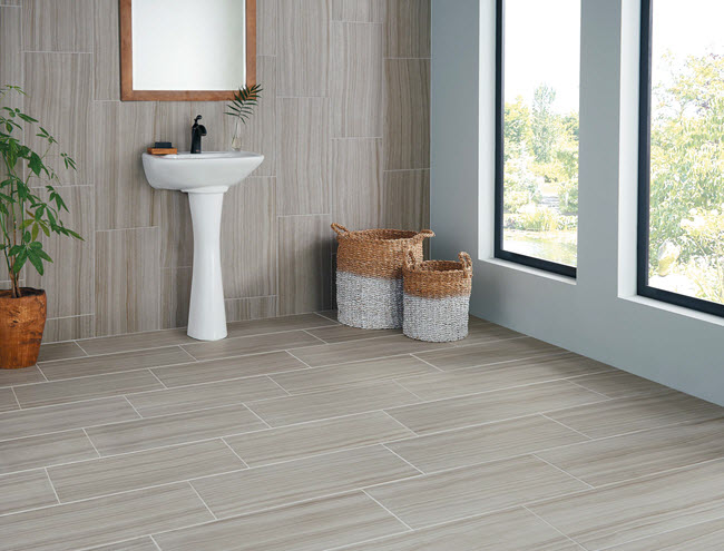 Crossville Tile's Java Joint looks beautiful on floors and walls