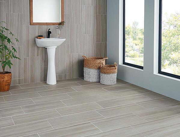 Crossville Tile's Java Joint looks beautiful on floors and walls