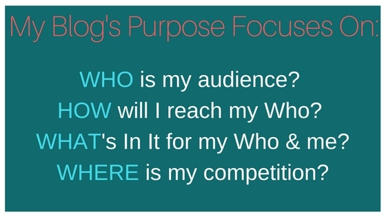 What to Consider for your Blog Purpose or Blog Mission Statement?