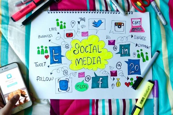 Amplify your website content via social networks