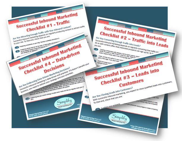 Download the Successful Inbound Marketing Checklists