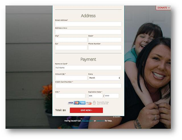 Union Gospel Mission uses DepositFix to collect donations and manage relationships with donors