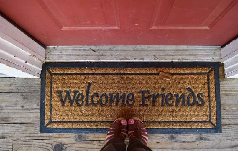 AirBnB's mission statement: you can belong anywhere