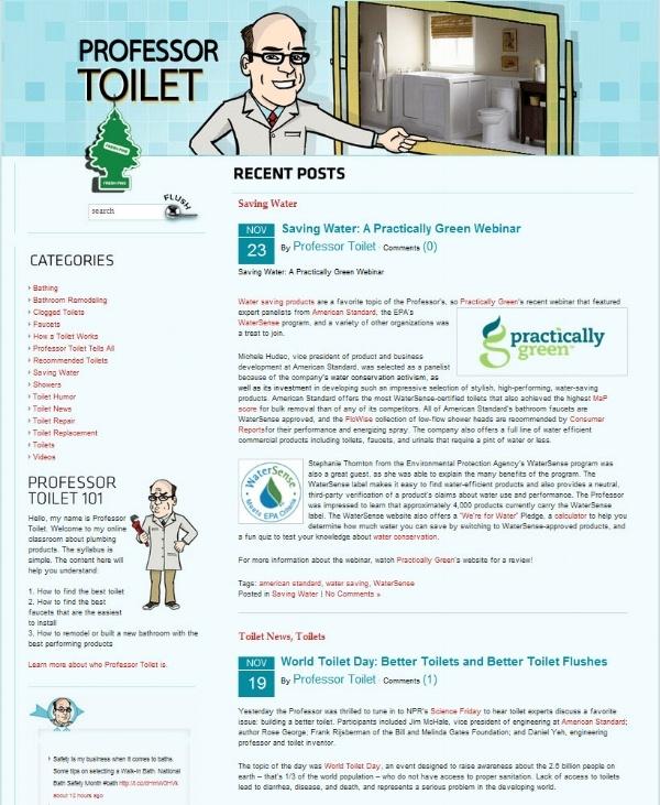 Professor Toilet Blog: Social Flooring Index Review