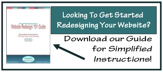 Download Website Redesign Guide for Simplified Instructions